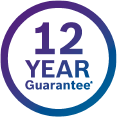 12 years Guarantee
